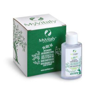 Gel Disinfettante con estratti di foglie d'olivo BIO